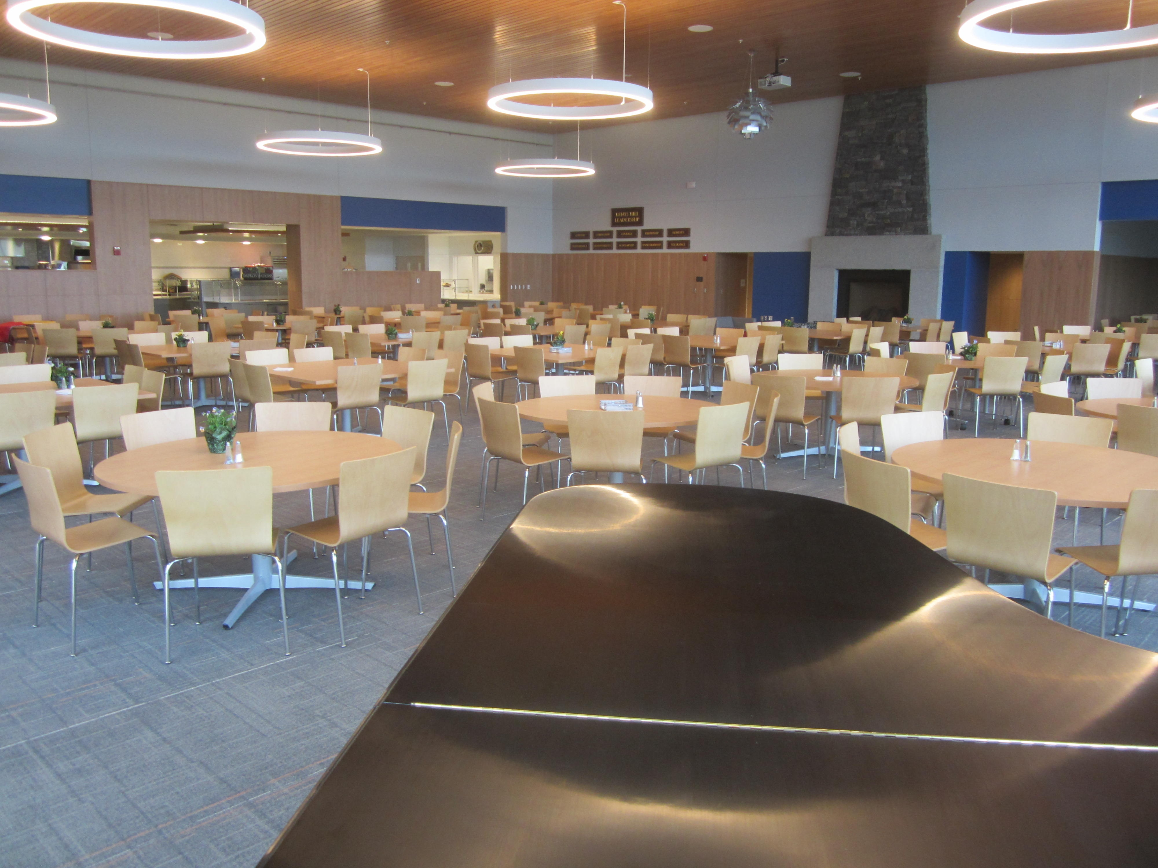 Kents Hill Dining Hall Seating