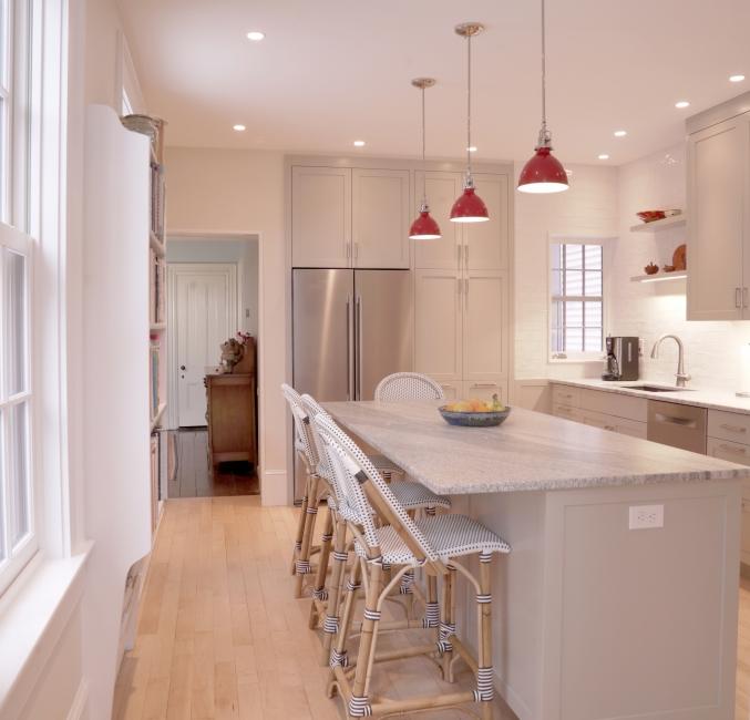 kitchen redesign, kitchen island