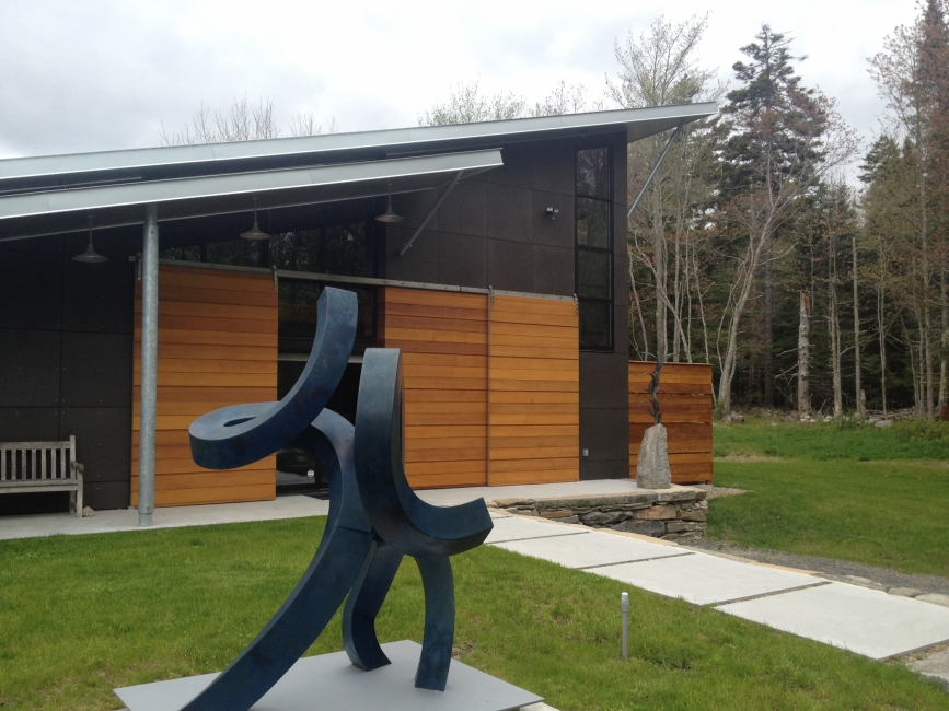 Artist Studio, outdoor sculpture