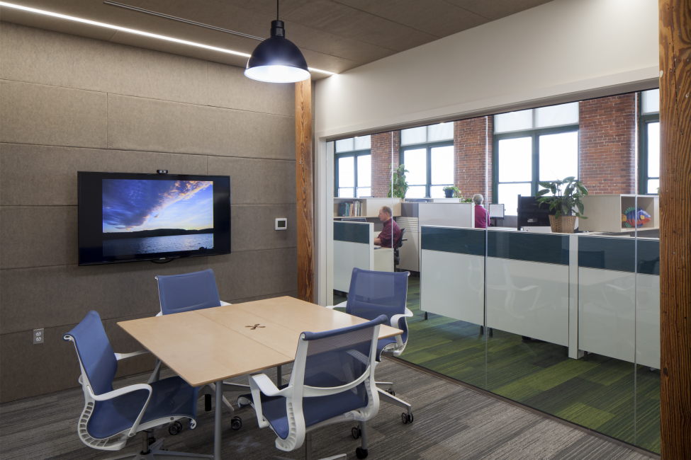 Meeting Room and Office Cubicles, Nature Conservancy