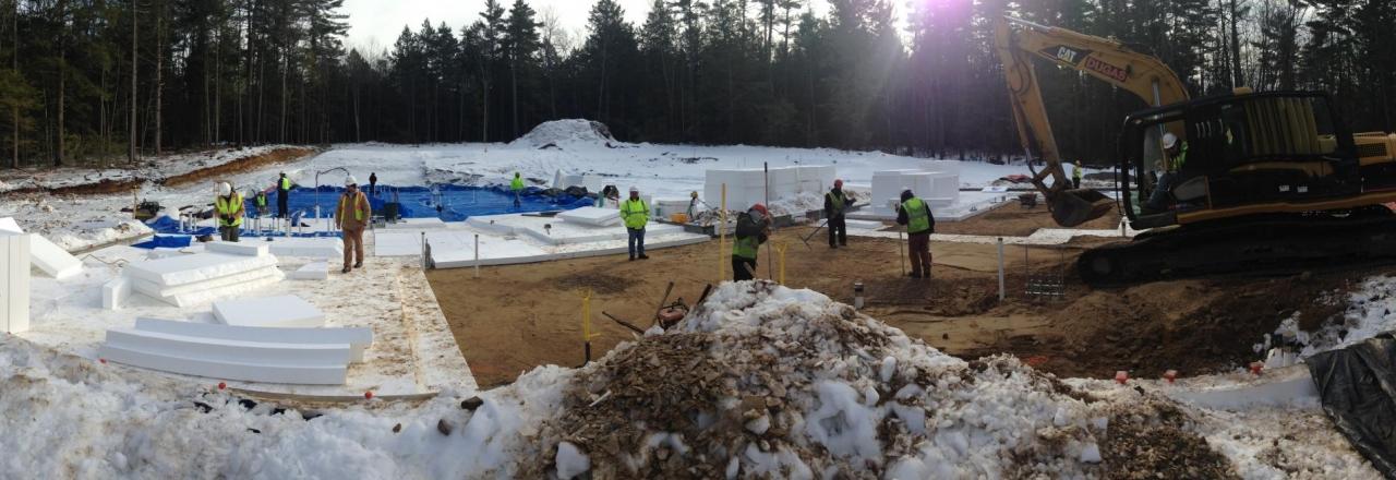 Thermal Break to the Earth Warren Construction