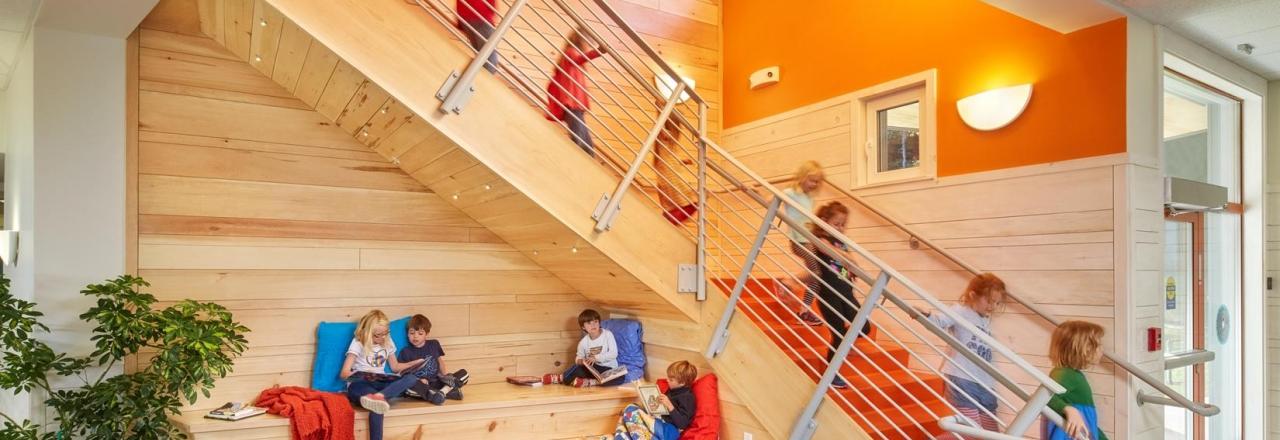 Friends School of Portland Stairs