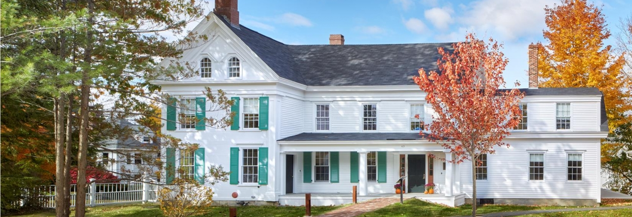 Renovated Stowe House, Brunswick Maine