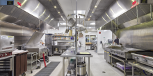 Commercial Kitchen, Kents Hill School