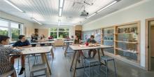 Class Room Space, Art Class, Maine Coast Waldorf School