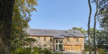 Cedar Shingle Addition, with Entrance