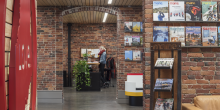 Office space, Brick walls