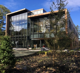 Roux Center for the Environment, Bowdoin College, Construction completed