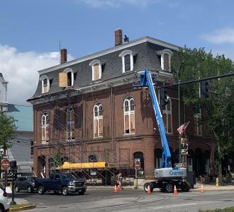 Lemont Block building renovations