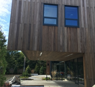 What is thermally modified wood