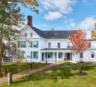 Renovated Stowe House, Brunswick Maine
